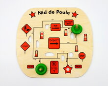 Potholes! Game (in French), 2 spinning tops