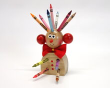 Mr. Pencil holder (natural)