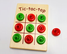 Tic-tac-top, 10 spinning tops