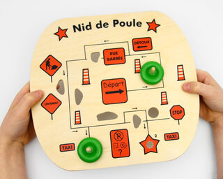 Potholes! Game (in French)